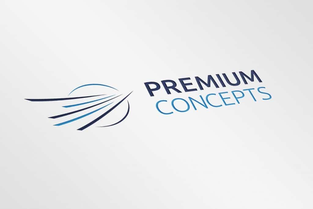 Neues Logo premium concepts