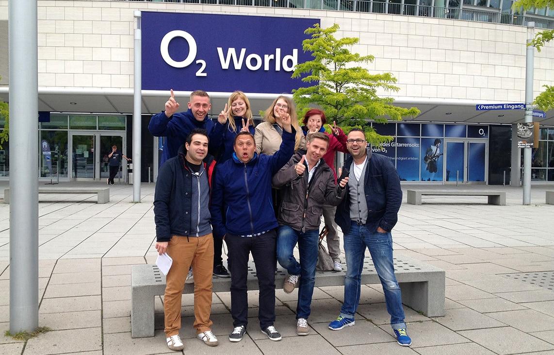 Robbie Williams in der o2 World