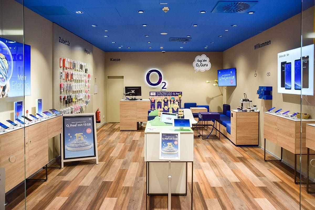 o2 Shop Jena Goethe Galerie