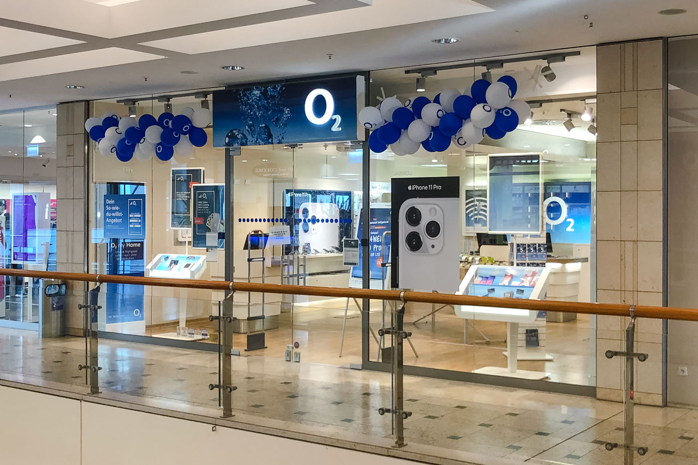 o2 Shop NOVA