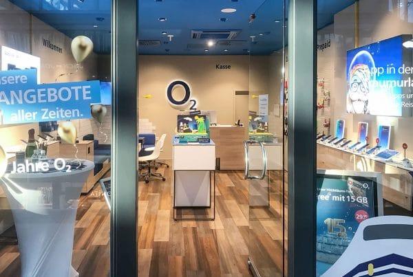 o2 Shop Plauen Stadt-Galerie