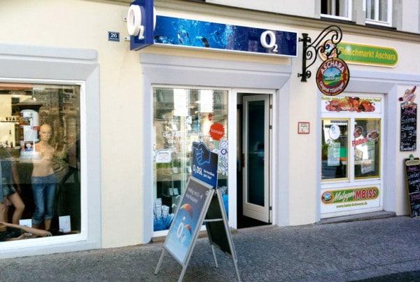 o2 Shop Gotha