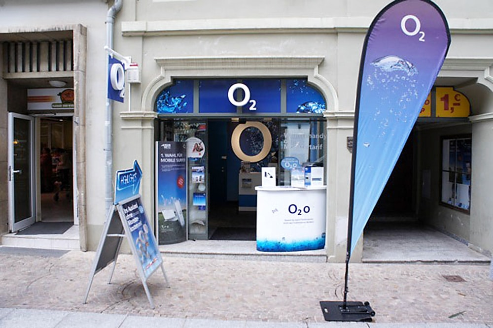 o2 Shop Naumburg