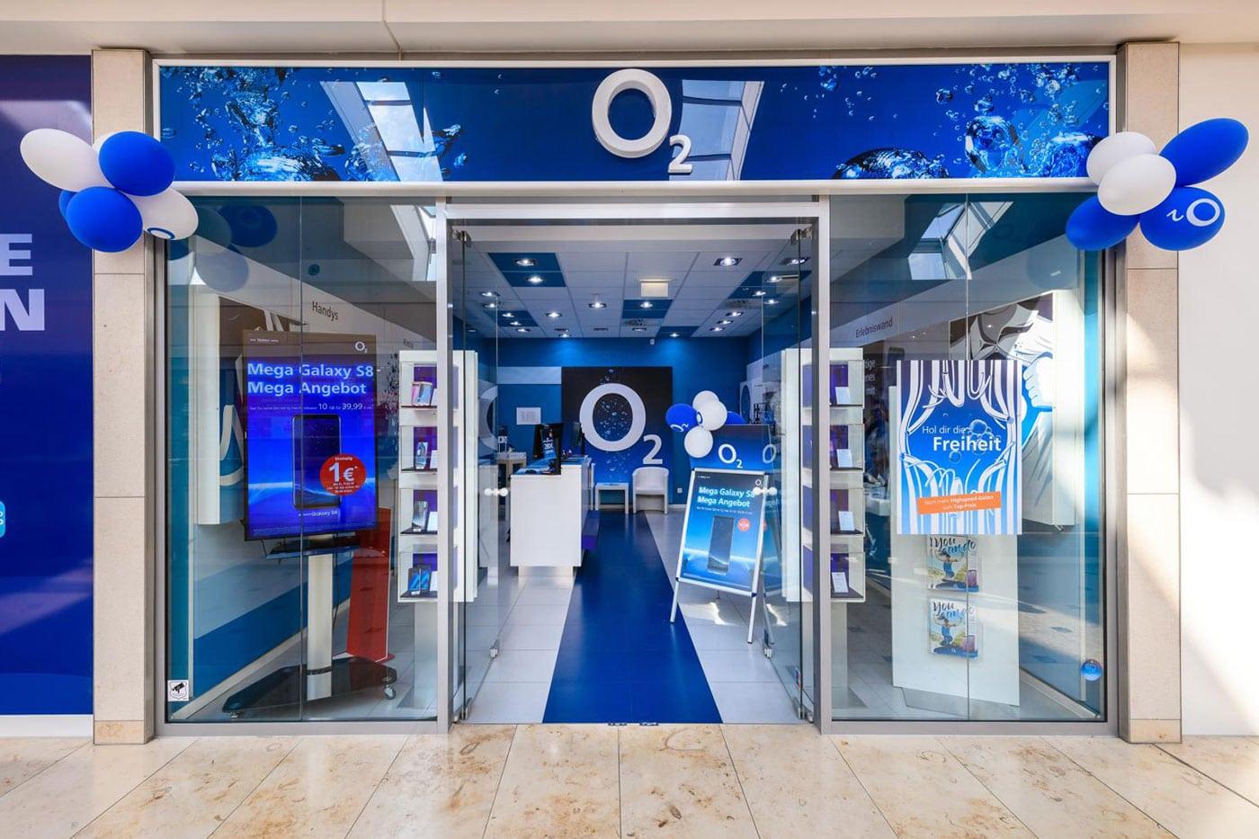 o2 Shop Nova Eventis