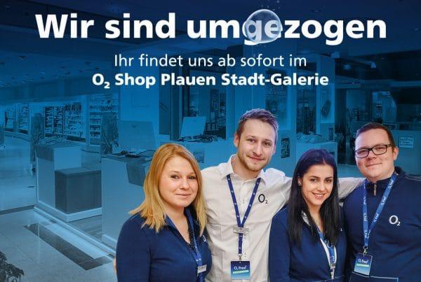 o2 Shop Plauen Kaufland - Jetzt in der Stadt-Galerie Plauen