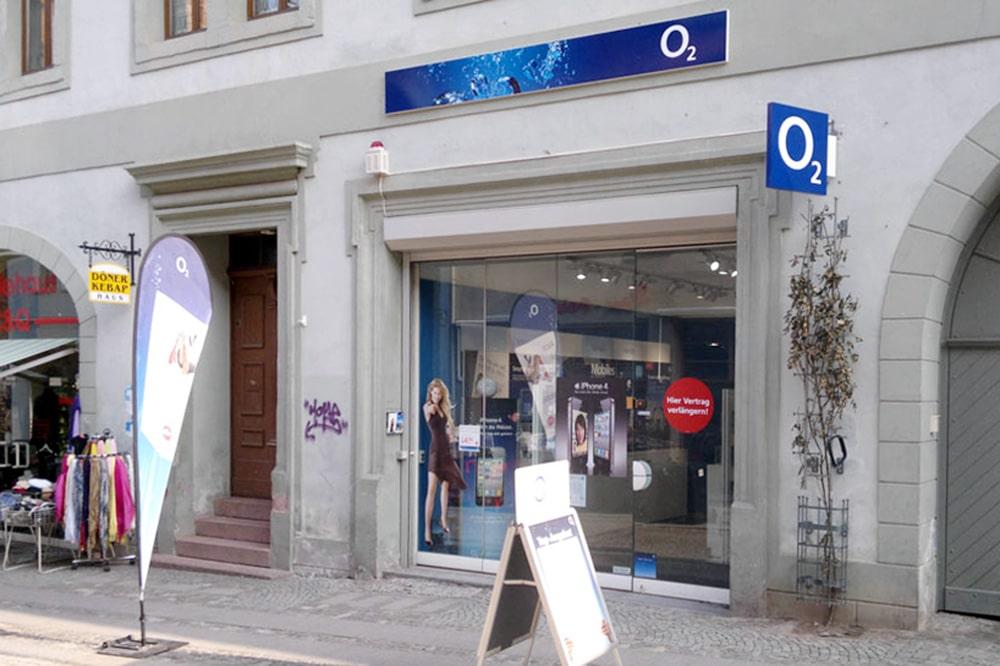 o2 Shop Sangerhausen