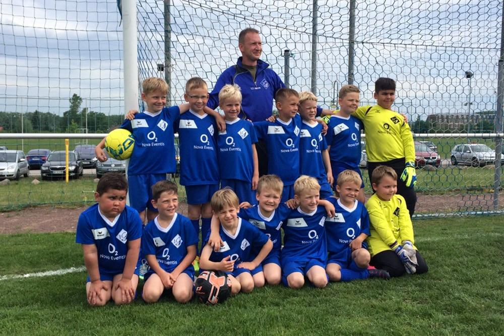 O<sub>2</sub> Nova Eventis sponsert SV Blau-Weiß Günthersdorf
