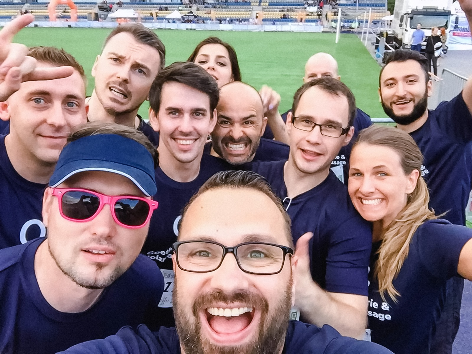 Firmenlauf Jena 2016 Team