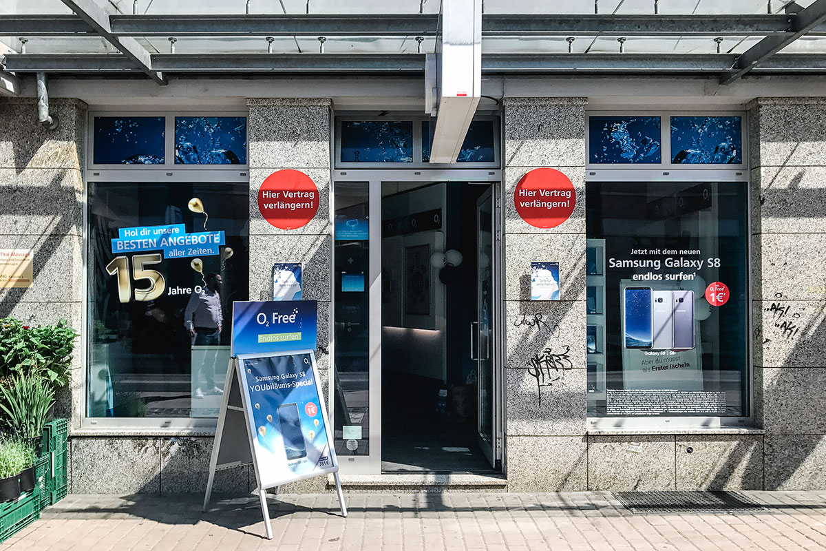 o2 Shop Dresden Loschwitzer Str.