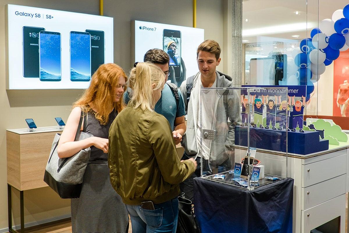 Tresor-Gewinnspiel im o2 Shop Jena