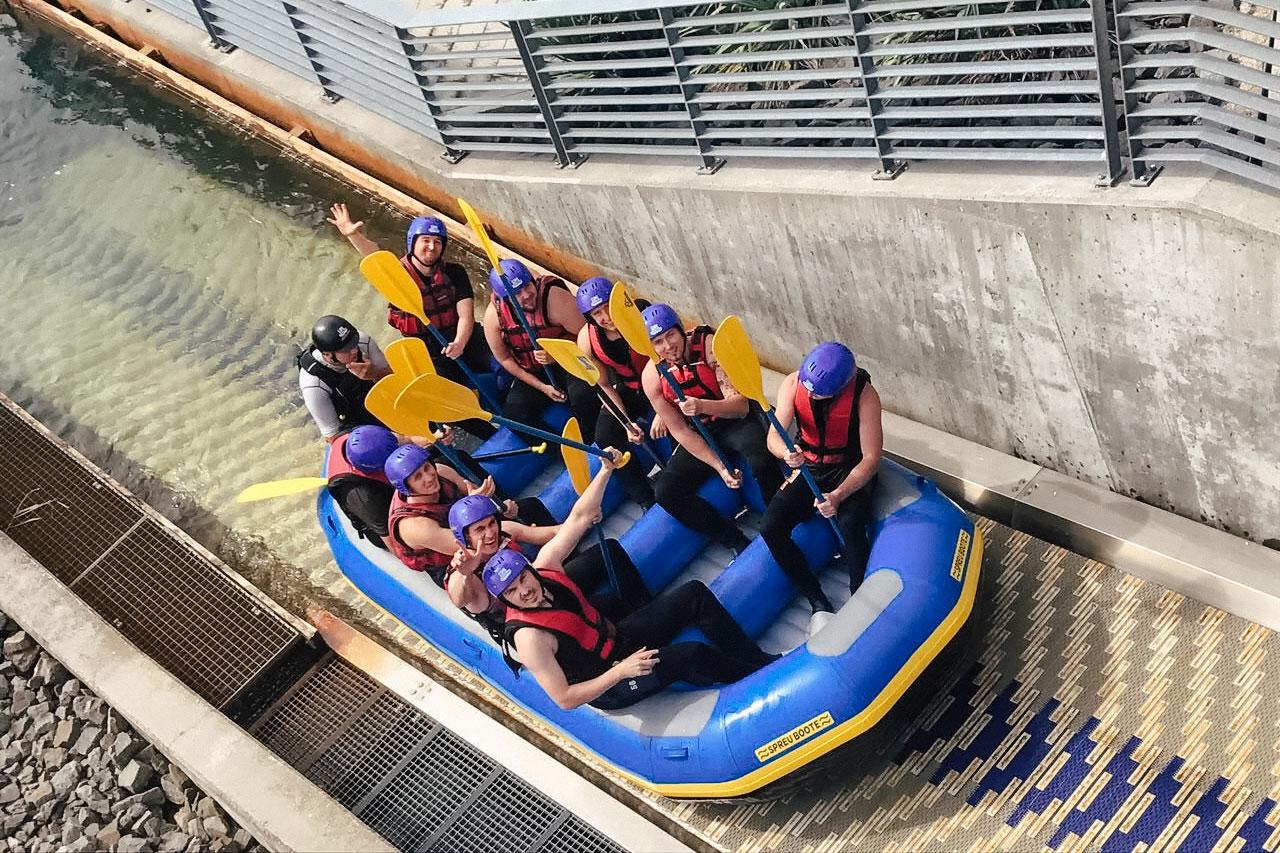 Sommerfest 2017: Rafting Abenteuer in Markkleeberg