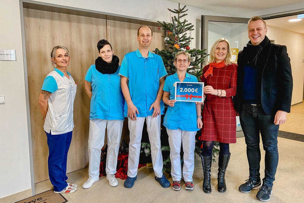 premium concepts unterstützt Hospiz Jena mit 2000€ Spende